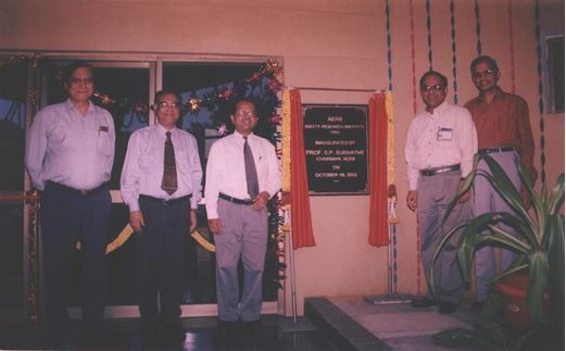 Inauguration of SRI Building Oct. 2003
