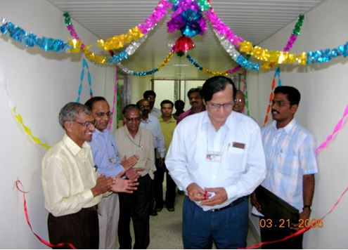 Inauguration of Chemistry Laboratory